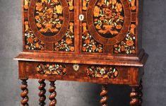 Antique Furniture Makers List Inspirational Charles Ii Olive Oyster Veneered & Floral Marquetry Cabinet On Stand