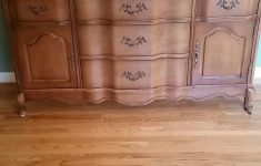 Antique Furniture San Jose Lovely Used 1962 63 Bassett French Provincial Buffet For Sale In