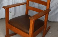 Antique Mission Style Furniture Awesome Antique Mission Oak Rocking Chair Rocker Lifetime Furniture Pany Arts & Crafts