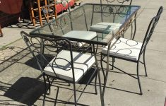 Antique Wrought Iron Patio Furniture Fresh Vintage Wrought Iron Patio Set By Lee Of California – Good