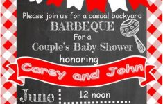 Baby Shower Cookout Luxury Baby Q Shower Invitations Barka