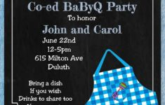 Baby Shower Cookout New Greeting Cards & Invitations Greeting Cards & Party Supply