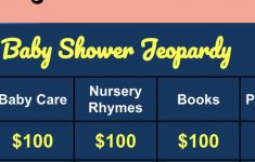 Baby Shower Final Jeopardy Question Awesome Fun Baby Shower Jeopardy With Free Digital Version
