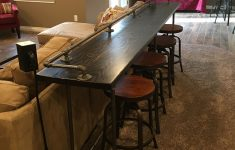 Bar Behind Couch Beautiful Cool Sofa Bar Table With Step By Step Instructions On How To