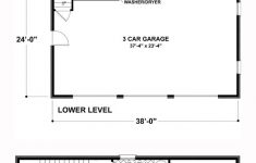 Bathroom In Garage Plans Inspirational Traditional Style 3 Car Garage Apartment Plan Number