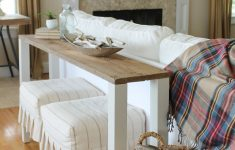 Behind Sofa Bar Table Beautiful The Easiest Diy Reclaimed Wood Sofa Table