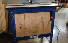 Cast Iron Router Table Top Beautiful Kreg Router Table Cabinet From Kreg Plans With Modifications