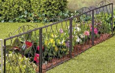 Chain Link Fence Slats Menards Inspirational Scrolled Metal Garden Fence In 2020