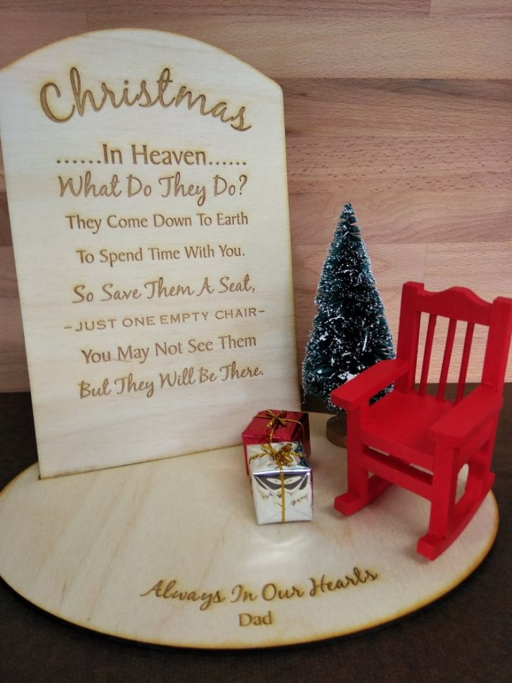Christmas In Heaven Chair 2021