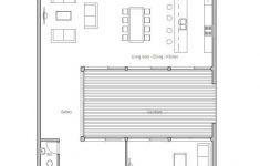 Contemporary House Plans For Narrow Lots Inspirational Modern Minimalist Narrow House Floor Plan From Concepthome