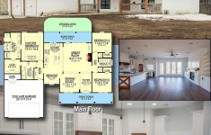 Cost To Build A 800 Square Foot House Best Of Plan Hz 3 Bedrooms And Porches Front And Back