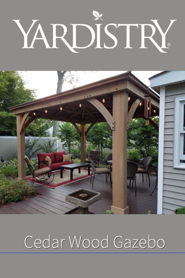 Costco Cedar Gazebo 2021