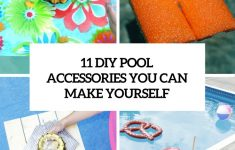 Diy Pool Float Beautiful 11 Diy Pool Accessories You Can Make Yourself Shelterness