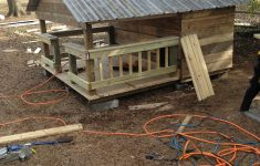 Dog House Plans For Two Dogs Awesome Huge Dog House W Metal Roof Made Of Pallets And Crates