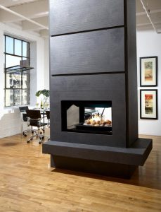Double Sided Electric Fireplace Inspirational When A 2 Sided Fireplace Is Preferable Option