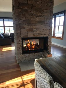 Double Sided Electric Fireplace Luxury Double Sided Wood & Gas Fireplace Sydney Chazelles Fireplaces