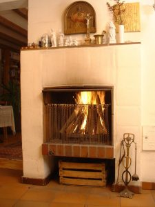 Double Sided Electric Fireplace New Fireplace