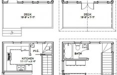 Drawing For House Plan Awesome 16x20 Houses Pdf Floor Plans 569 Sq Ft By Excellentfloorplans