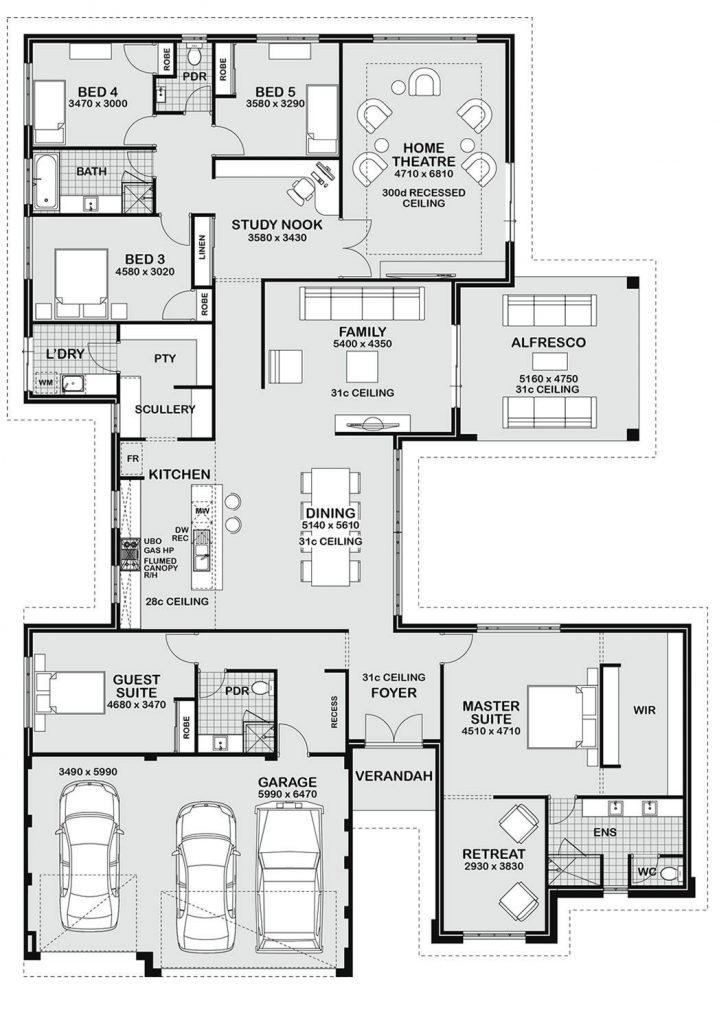 Drawing for House Plan 2021