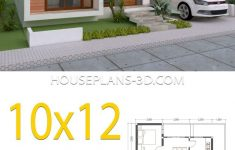 E House Plans Designs Elegant House Design 10x12 With 3 Bedrooms Terrace Roof House