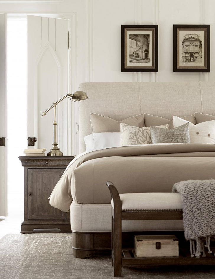 Fabric Sleigh Bed 2021