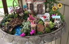 Fairy Garden House Plans Beautiful Fairy Garden This Was A Fun Project That My Granddaughter