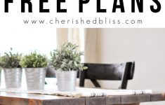 Farm House Table Plans Awesome X Brace Farmhouse Table