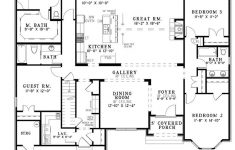 Floor Plan For One Story House Inspirational Open E Story House Plans