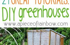 Free Green House Plans Lovely 42 Best Diy Greenhouses With Great Tutorials And Plans