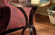 Furniture Gallery Butler Unique Butler Specialty Brass Gallery Around Accent Table In Distinctive Hand Paint