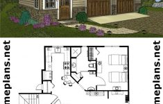 Garage With Guest House Plans Elegant Craftsman Style 2 Car Garage Apartment Plan Live In The