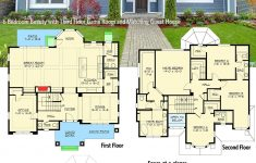 Guest Houses Plans And Designs New Plan Jd 6 Bedroom Beauty With Third Floor Game Room