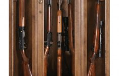 Hidden Wood Gun Cabinet Awesome Traditional American Made Corner Gun Cabinet With Carousel