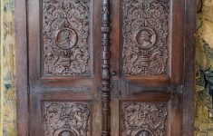 High Quality Antique Furniture Lovely Renaissance Joined Oak Clothes Press Circa 1530