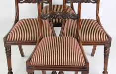 High Quality Antique Furniture Unique Set Of 4 Antique William Iv Rosewood Dining Chairs In The