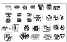 House Plan Collection Free Download Lovely 1000 Modern House Autocad Plan Collection – Free Download