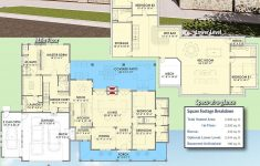 House Plans 2500 Sq Ft One Story Beautiful Plan Sc Country Farmhouse With Exterior Options And