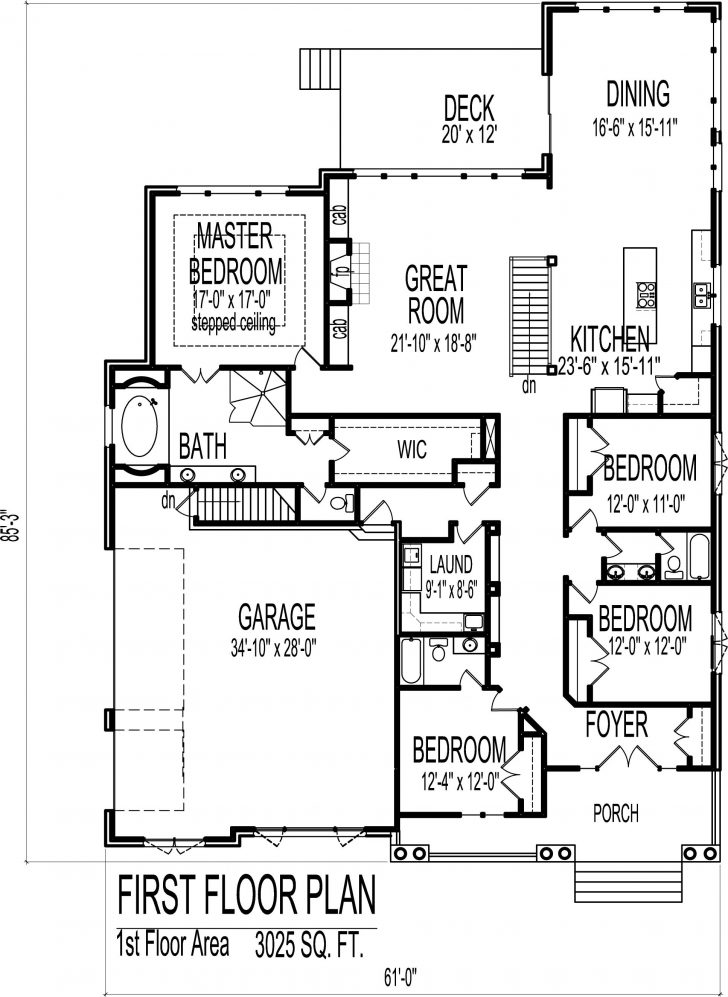 House Plans 2500 Sq Ft One Story 2021