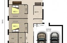 House Plans 3 Bedroom And Double Garage Fresh Entrancing House Plans Single Storey Double Garage Single