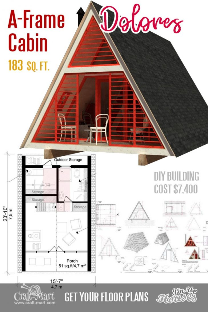 House Plans for Cabins and Small Houses 2021