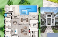 House Plans Inside And Outside Beautiful Plan Bw Florida Living With Wonderful Outdoor Space