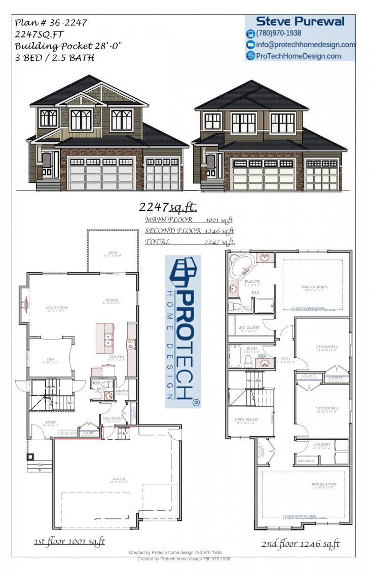 House Plans Two Story 2020