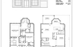 House Plans Two Story New Two Story House Plan D9054