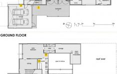 House Plans With Fireplace Beautiful Position Of Sensors Yellow Shown On Floor Plans Of House A