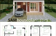 House Plans With Flat Roof Lovely House Plans 6 6x9 With 3 Bedrooms Flat Roof