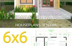 House Plans With Flat Roof Lovely House Plans 6x6 With E Bedrooms Flat Roof House Plans 3d