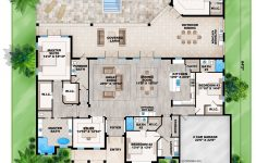 House Plans With Large Dining Rooms Lovely Contemporary Beach Style House Plan South Florida Design