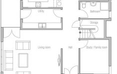 House Plans With Large Living Rooms Inspirational Modern House Plan With Three Bedrooms Large Living Room