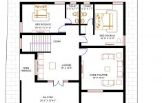 House Plans With Price Estimate Inspirational Floor Plan For 50 X 50 Plot