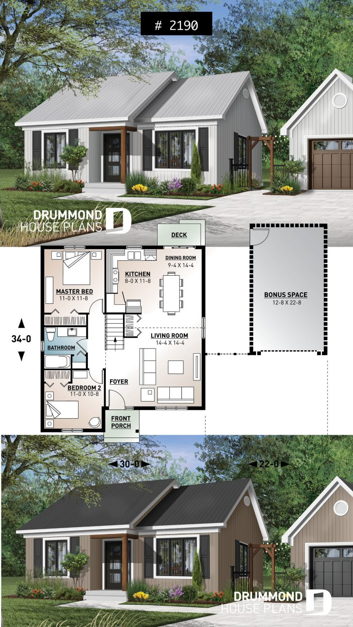 House Plans with Simple Roof Designs 2020
